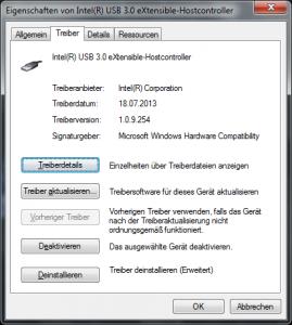 Treiber (USB 3.0 Host-Controller)