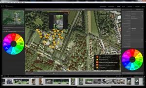 Im Karten-Modul kann der Aufnahmeort von Fotos durch Geotagging dargestellt werden