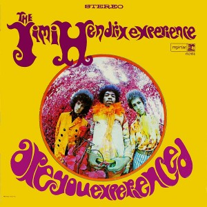 The Jimi Hendrix Experience - Are You Experienced: Cover der US-Version mit Falschfarben-Infrarot-Aufnahme