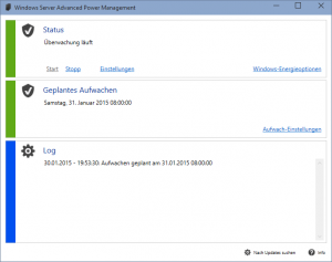 Windows Server Advanced Power Management unter Windows 10 (Technical Preview)