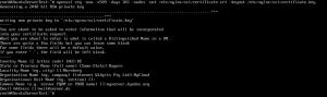SSL-Zertifikat generieren