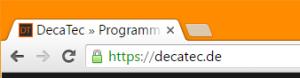 Die Datenübertragung erfolgt nun komplett verschlüsselt per HTTPS
