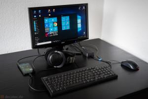 Lumia 950: Arbeitsplatz mit Continuum Dock