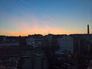 Lumia 950 Foto: Dämmerung