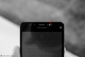 Lumia 950: Infrarotsensor