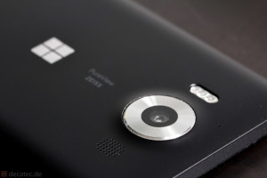 Lumia 950: Kamera