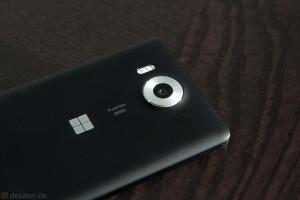 Lumia 950: Rückansicht