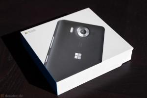 Lumia 950: Verpackung