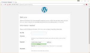 WordPress-Setup - komplett mit Formatierungen und JavaScript