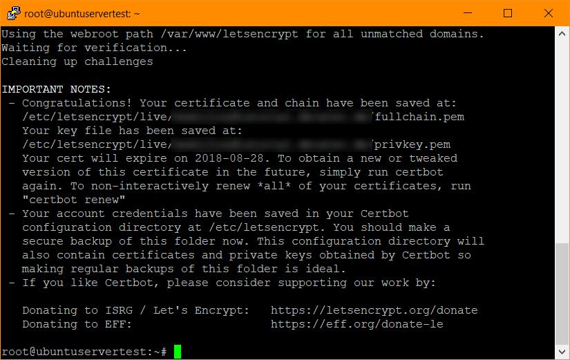 Nextcloud auf Ubuntu Server 18.04 LTS mit nginx, MariaDB, PHP, Let\'s ...