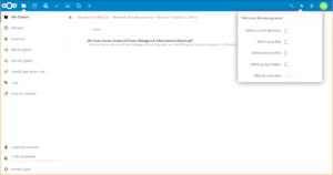 Volltextsuche in Nextcloud: PDFs mit Text-Layer können hier einfach durchsucht werden