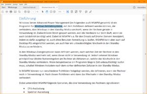 PDF mit Text-Layer: Hier können Inhalte markiert und kopiert werden