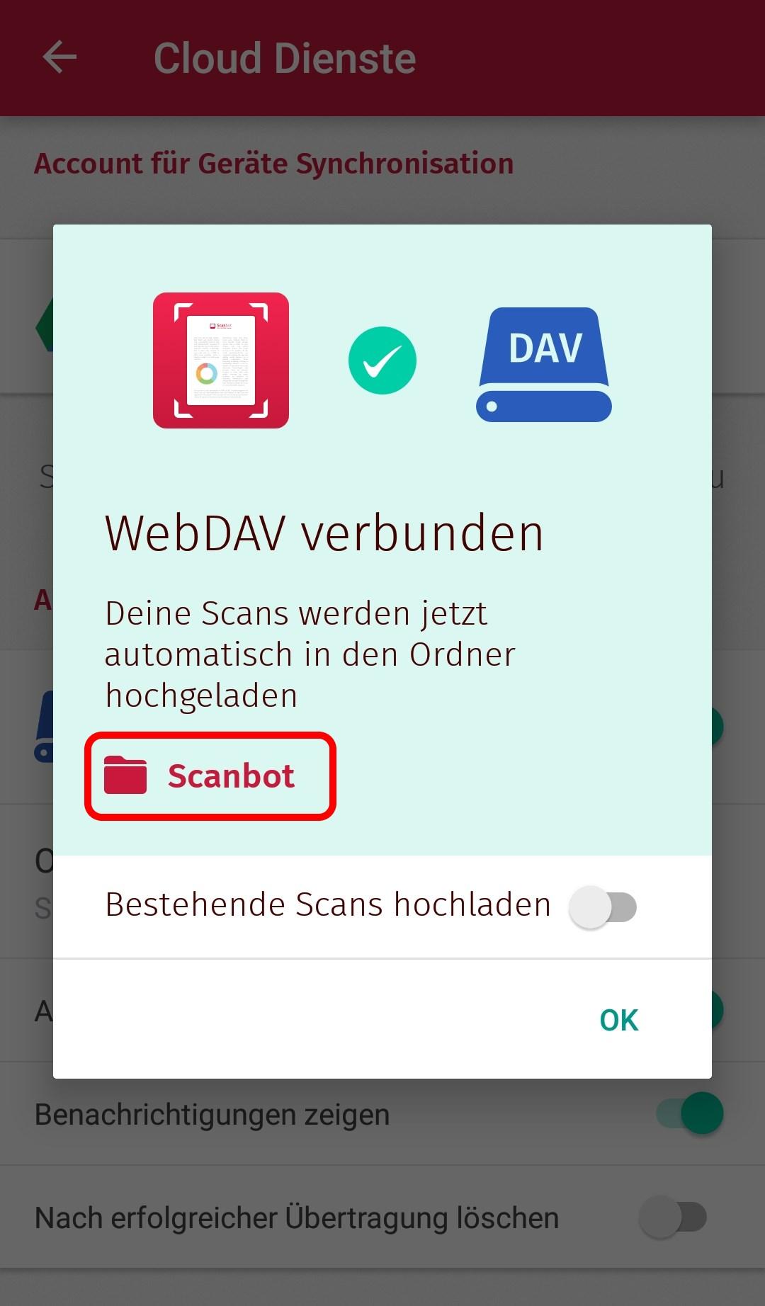 Scanbot und Nextcloud zur Verwaltung digitaler Dokumente (mit OCR