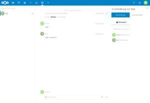 Nextcloud Talk in Aktion