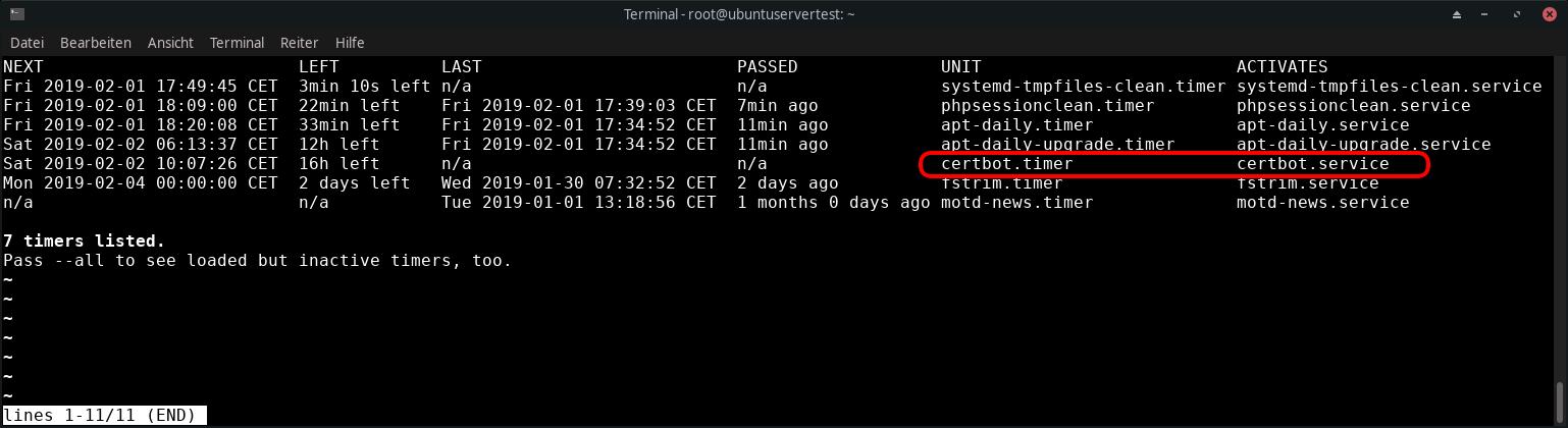 Let's Encrypt: Umstieg von Certbot auf acme sh (nginx) » DecaTec