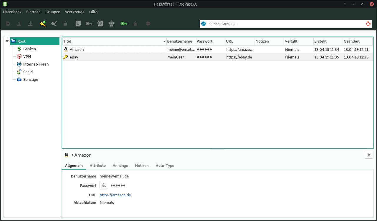 Passwörter verwalten mit Nextcloud/KeePass » DecaTec